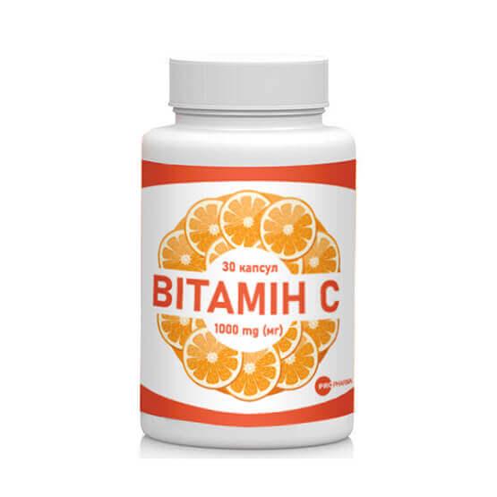 Витамин С от простуды